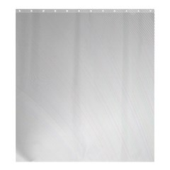 White Background Abstract Light Shower Curtain 66  X 72  (large)