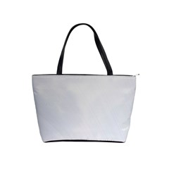 White Background Abstract Light Shoulder Handbags