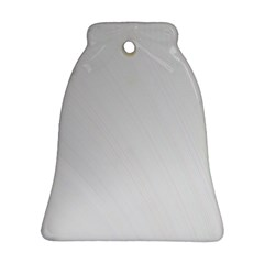 White Background Abstract Light Ornament (bell)
