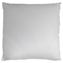 White Background Abstract Light Large Cushion Case (two Sides)
