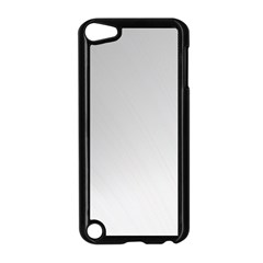 White Background Abstract Light Apple Ipod Touch 5 Case (black)