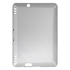 White Background Abstract Light Kindle Fire Hdx Hardshell Case