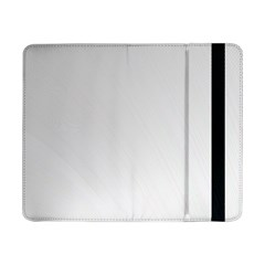 White Background Abstract Light Samsung Galaxy Tab Pro 8 4  Flip Case