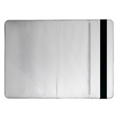 White Background Abstract Light Samsung Galaxy Tab Pro 12 2  Flip Case