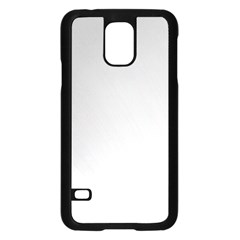 White Background Abstract Light Samsung Galaxy S5 Case (black)