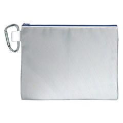 White Background Abstract Light Canvas Cosmetic Bag (xxl)