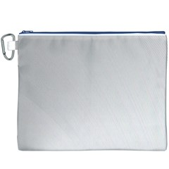 White Background Abstract Light Canvas Cosmetic Bag (xxxl)