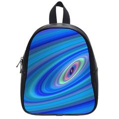 Oval Ellipse Fractal Galaxy School Bag (small)