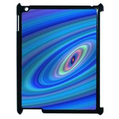 Oval Ellipse Fractal Galaxy Apple Ipad 2 Case (black)