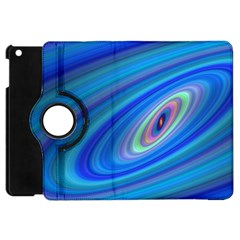 Oval Ellipse Fractal Galaxy Apple Ipad Mini Flip 360 Case