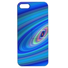 Oval Ellipse Fractal Galaxy Apple Iphone 5 Hardshell Case With Stand