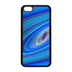 Oval Ellipse Fractal Galaxy Apple Iphone 5c Seamless Case (black)