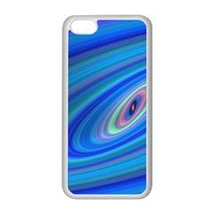 Oval Ellipse Fractal Galaxy Apple Iphone 5c Seamless Case (white)