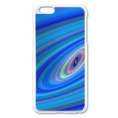 Oval Ellipse Fractal Galaxy Apple Iphone 6 Plus/6s Plus Enamel White Case