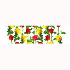 Rose Pattern Roses Background Image Large Bar Mats