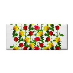 Rose Pattern Roses Background Image Cosmetic Storage Cases