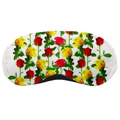 Rose Pattern Roses Background Image Sleeping Masks