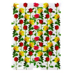 Rose Pattern Roses Background Image Apple Ipad 3/4 Hardshell Case (compatible With Smart Cover)