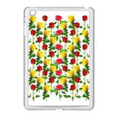 Rose Pattern Roses Background Image Apple Ipad Mini Case (white)