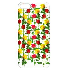 Rose Pattern Roses Background Image Apple Iphone 5 Hardshell Case With Stand
