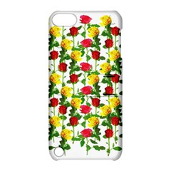 Rose Pattern Roses Background Image Apple Ipod Touch 5 Hardshell Case With Stand