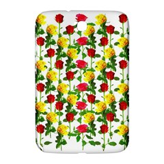 Rose Pattern Roses Background Image Samsung Galaxy Note 8 0 N5100 Hardshell Case