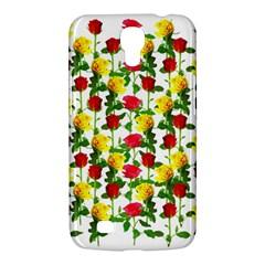 Rose Pattern Roses Background Image Samsung Galaxy Mega 6 3  I9200 Hardshell Case