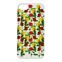 Rose Pattern Roses Background Image Apple Iphone 5s/ Se Hardshell Case