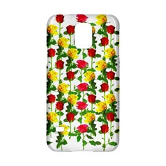 Rose Pattern Roses Background Image Samsung Galaxy S5 Hardshell Case