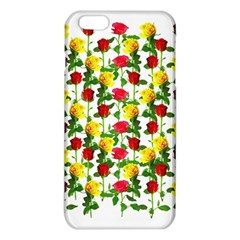 Rose Pattern Roses Background Image Iphone 6 Plus/6s Plus Tpu Case