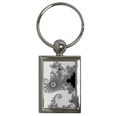 Apple Males Mandelbrot Abstract Key Chains (rectangle)