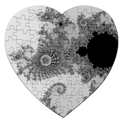 Apple Males Mandelbrot Abstract Jigsaw Puzzle (heart)