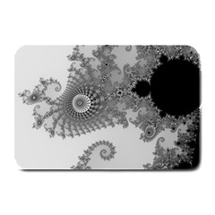 Apple Males Mandelbrot Abstract Plate Mats