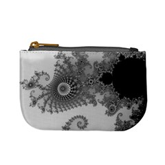 Apple Males Mandelbrot Abstract Mini Coin Purses