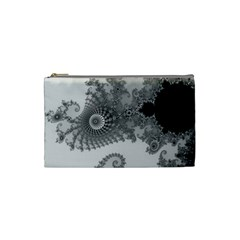 Apple Males Mandelbrot Abstract Cosmetic Bag (small)