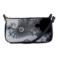 Apple Males Mandelbrot Abstract Shoulder Clutch Bags