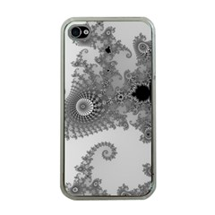 Apple Males Mandelbrot Abstract Apple Iphone 4 Case (clear)