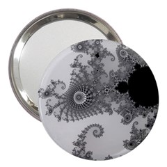 Apple Males Mandelbrot Abstract 3  Handbag Mirrors