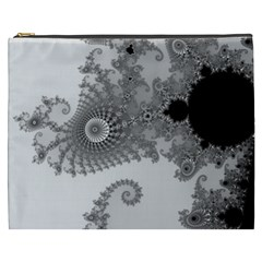 Apple Males Mandelbrot Abstract Cosmetic Bag (xxxl)