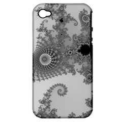 Apple Males Mandelbrot Abstract Apple Iphone 4/4s Hardshell Case (pc+silicone)