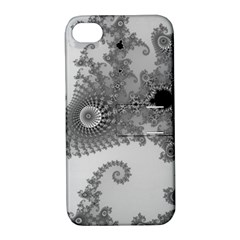 Apple Males Mandelbrot Abstract Apple Iphone 4/4s Hardshell Case With Stand