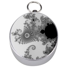Apple Males Mandelbrot Abstract Silver Compasses