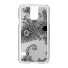 Apple Males Mandelbrot Abstract Samsung Galaxy S5 Case (white)