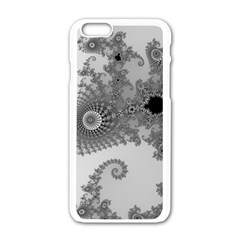 Apple Males Mandelbrot Abstract Apple Iphone 6/6s White Enamel Case