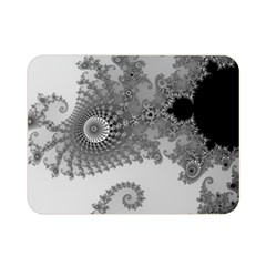 Apple Males Mandelbrot Abstract Double Sided Flano Blanket (mini)