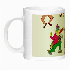 Golfers Athletes Night Luminous Mugs