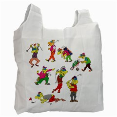 Golfers Athletes Recycle Bag (two Side)