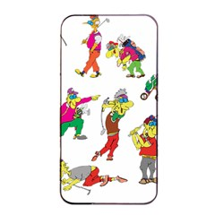 Golfers Athletes Apple Iphone 4/4s Seamless Case (black)