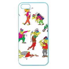 Golfers Athletes Apple Seamless Iphone 5 Case (color)