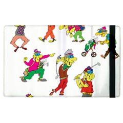 Golfers Athletes Apple Ipad 2 Flip Case